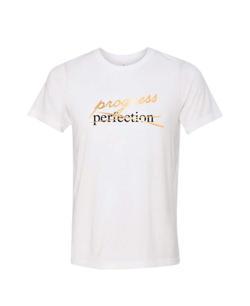 progress not perfection - White - unisex