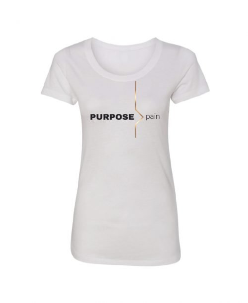 Purpose > pain - White - womens